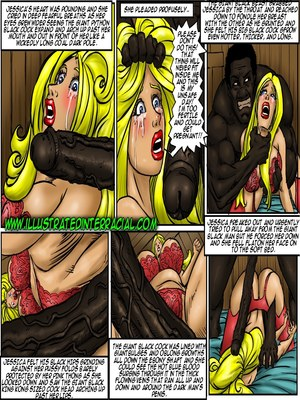 Interracial Comics Illustrated interracial- Farm girl Porn Comic 42