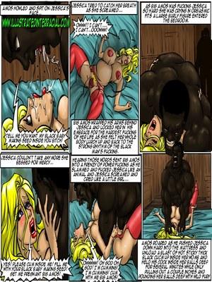 Interracial : Illustrated interracial- Farm girl Porn Comic sex 53