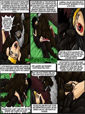 Interracial : Illustrated interracial- Farm girl Porn Comic sex 93