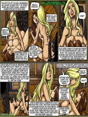 Interracial Comics Illustrated interracial- Flag Girls Porn Comic 118