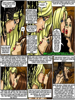 Interracial : Illustrated interracial- Flag Girls Porn Comic sex 119