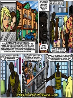 Interracial : Illustrated interracial- Flag Girls Porn Comic sex 25