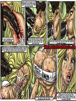 Interracial : Illustrated interracial- Flag Girls Porn Comic sex 38