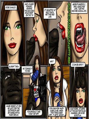 Interracial : Illustrated interracial- Flag Girls Porn Comic sex 58