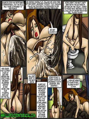 Interracial Comics Illustrated interracial- Flag Girls Porn Comic 90