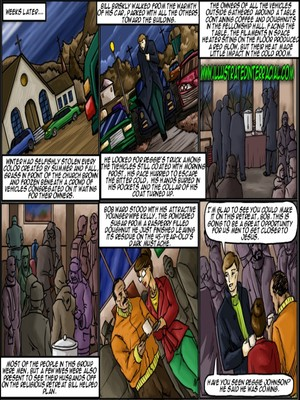 Interracial Comics Illustrated interracial- New Parishioner Porn Comic 11