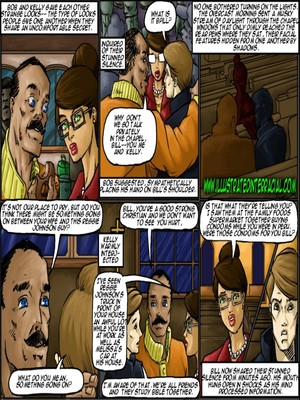 Interracial Comics Illustrated interracial- New Parishioner Porn Comic 12