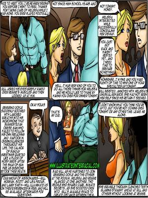Interracial Comics Illustrated interracial- New Parishioner Porn Comic 77