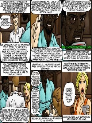 Interracial : Illustrated interracial- New Parishioner Porn Comic sex 88