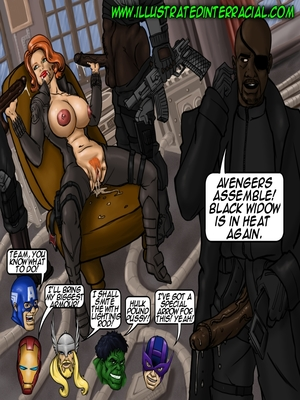 Interracial Comics illustrated interracial- Parodies Porn Comic 01