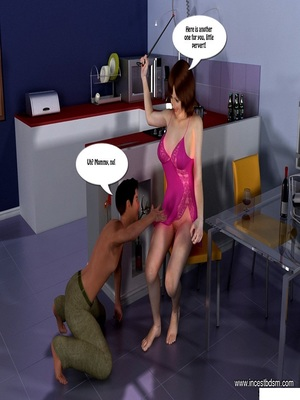 3D Porn Comics Incest3D- Boy Learns To Control His Desires Porn Comic 09