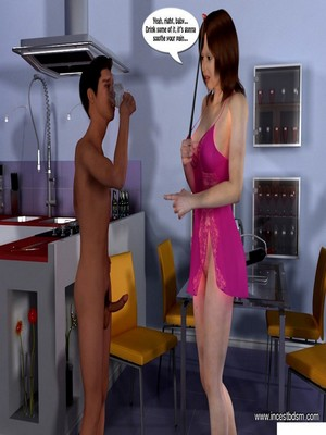 3D Porn Comics Incest3D- Boy Learns To Control His Desires Porn Comic 14