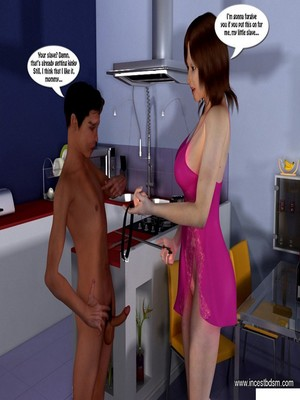 3D Porn Comics Incest3D- Boy Learns To Control His Desires Porn Comic 15