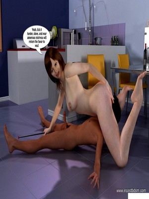 3D Porn Comics Incest3D- Boy Learns To Control His Desires Porn Comic 18