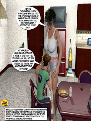 Mom and Son Pool Party 3 free Porn Comic sex 06