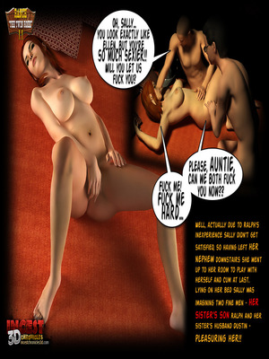 3D Porn Comics Incest3DChronicles- Ranch The Twin Roses. Part 2 Porn Comic 02