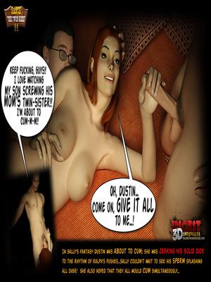3D Porn Comics Incest3DChronicles- Ranch The Twin Roses. Part 2 Porn Comic 11