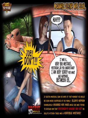 3D Porn Comics Incest3DChronicles- Ranch The Twin Roses. Part 2 Porn Comic 19