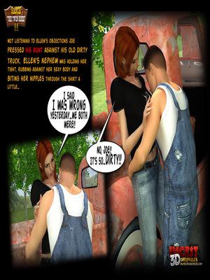 3D Porn Comics Incest3DChronicles- Ranch The Twin Roses. Part 2 Porn Comic 23