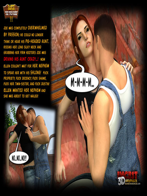 3D Porn Comics Incest3DChronicles- Ranch The Twin Roses. Part 2 Porn Comic 25
