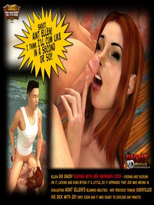 3D Porn Comics Incest3DChronicles- Ranch The Twin Roses. Part 2 Porn Comic 44