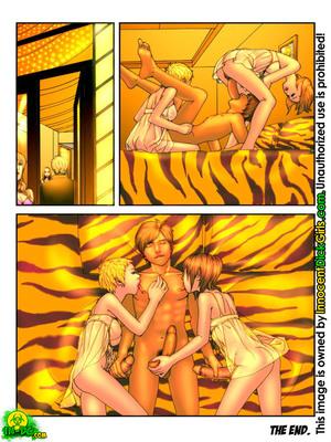 Innocent Dickgirls- The Futa Flight free Porn Comic