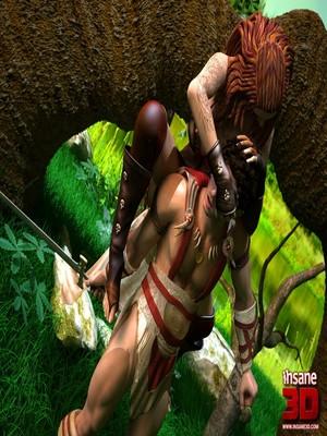 3D Porn Comics Insane3D- Barbarian Love Porn Comic 02