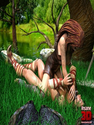 3D Porn Comics Insane3D- Barbarian Love Porn Comic 05