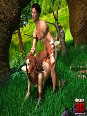 3D Porn Comics Insane3D- Barbarian Love Porn Comic 28