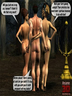 Insane3D- Elf Sluts free Porn Comic