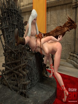 3D Porn Comics Insane3D- Game of Bones- She's the Queen Now Porn Comic 07