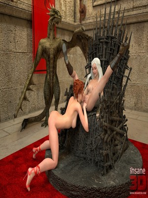 3D Porn Comics Insane3D- Game of Bones- She's the Queen Now Porn Comic 08
