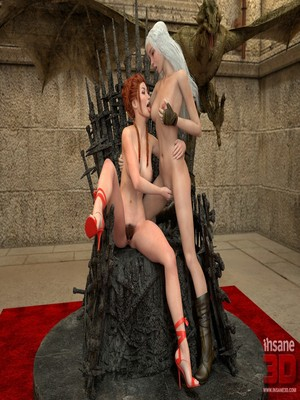 3D Porn Comics Insane3D- Game of Bones- She's the Queen Now Porn Comic 14
