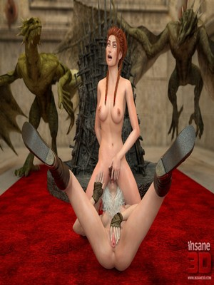 3D Porn Comics Insane3D- Game of Bones- She's the Queen Now Porn Comic 22