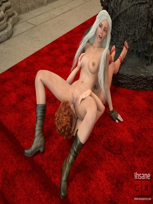 3D Porn Comics Insane3D- Game of Bones- She's the Queen Now Porn Comic 26