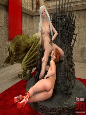3D Porn Comics Insane3D- Game of Bones- She's the Queen Now Porn Comic 30