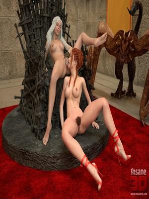 3D Porn Comics Insane3D- Game of Bones- She's the Queen Now Porn Comic 35