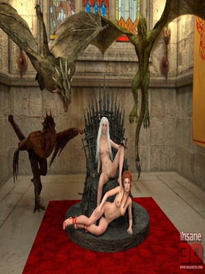 3D : Insane3D- Game of Bones- She's the Queen Now Porn Comic