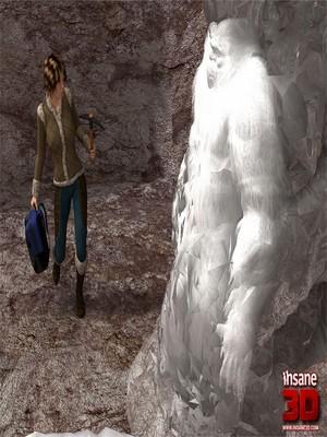 Porn Comics - Insane3D- Horny Bigfoot free Porn Comic