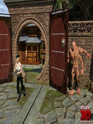 3D Porn Comics Insane3D- Mortal Cumbath Porn Comic 02