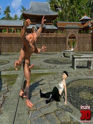 3D Porn Comics Insane3D- Mortal Cumbath Porn Comic 04