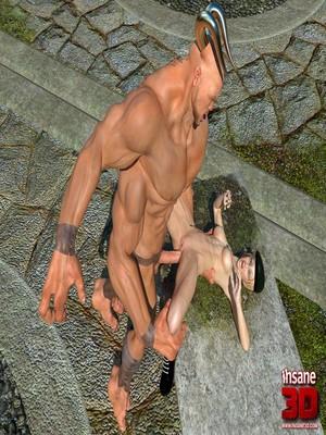 3D Porn Comics Insane3D- Mortal Cumbath Porn Comic 17
