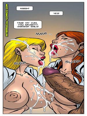 Interracial Comics Interracial-  Welcome to Sweden Porn Comic 11