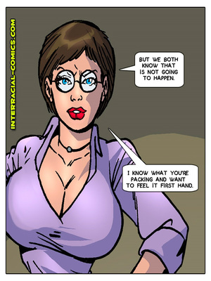 Interracial Comics Interracial-  Welcome to Sweden Porn Comic 32