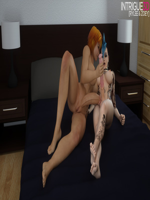 Porn Comics - Intrigue3D- Rylee & Zoey free Porn Comic