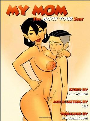 Jab Comix Jab Comix – My Mom- The Book Tour Star Porn Comic 02