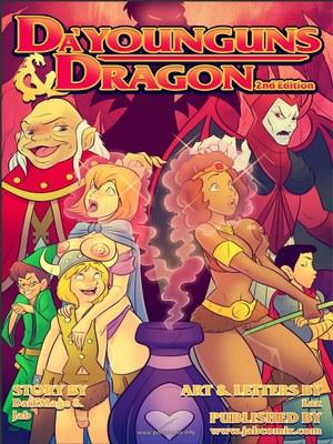 Jab Comix Jab Comix- Dau2019Younguns & Dragons 2 Porn Comic 01