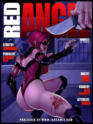Porn Comics - JABCOMIX- RED ANGEL 5 Porn Comic