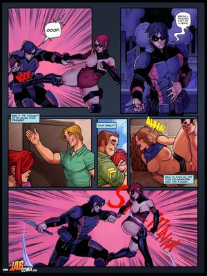 Jab Comix JABCOMIX- RED ANGEL 5 Porn Comic 13