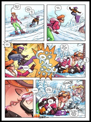 Jab Comix JabComix- Snowed In Porn Comic 16